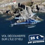 1- Vol découverte Oya Vendée Hélicoptère