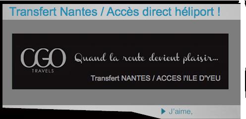 Liaison Nantes, Héliport OYA, de Beauvoir sur mer, Fromentine