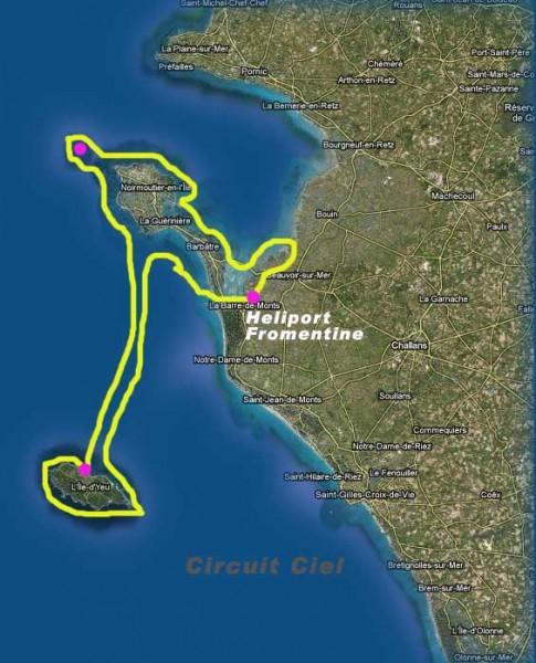 Le tour complet des iles de Vendée