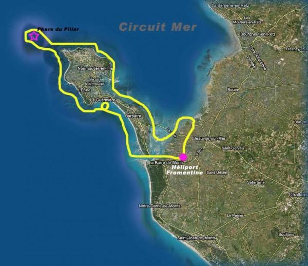 Noirmoutier et L'ile du Pilier en Helico