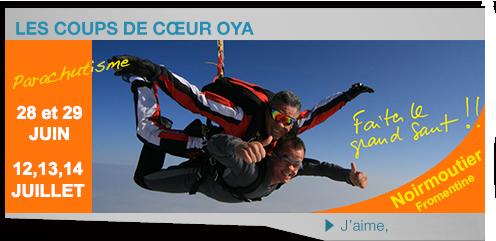 parachutisme tandem