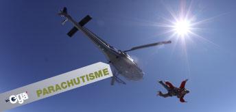 Baptême Parachute Helico