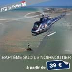 3- Baptême en hélicoptère au Sud de Noirmoutier