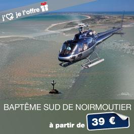 Bapteme Helico Noirmoutier